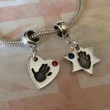 Bracelet Charms - choice of shape