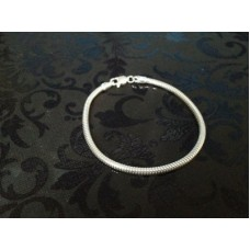 3mm Snake Bracelet for Charms