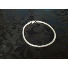 3mm Snake Bracelet for Charms
