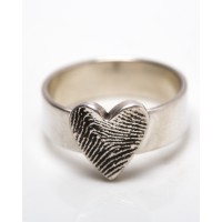Solid Silver Band Ring